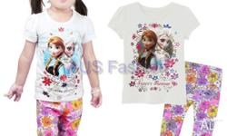 IN STOCK New Girl /boy Pyjamas Sleepwear Frozen