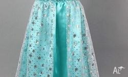 Frozen Dress Costume Princess Queen Elsa Anna Party