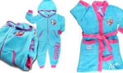 Frozen sleepwear bundles Sizes 3,4,5,6 Both for $40