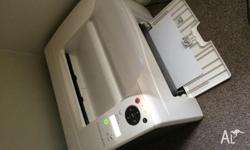 Colored laser printer used for just under a year. In