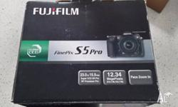 Fujifilm DSLR Camera for sale. Bought for myself second