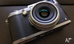 Fujifilm X100S, age is about 18 months. Condition of