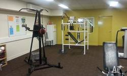 Gym boxing stand, full circuit 12 machines and