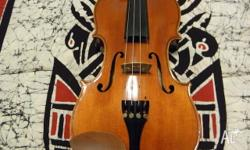 This violin sounds incredible for the price. The tone