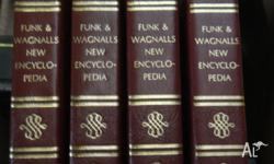 Complete set of Funk & Wagnall Encyclopedia 1973