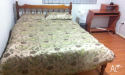 ONE FURNISHED BIG SIZE ROOM WITH OWN BATHROOM FOR RENT
