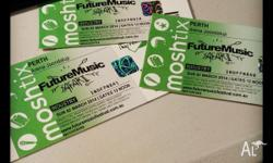 Hard copy future tickets for sale $160ea Cheaper than