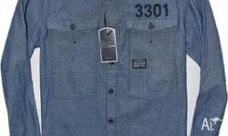 G star raw men shirt new with tag Size Large Price not