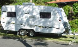 2006 GALAXY SOUTHERN CROSS SERIES 4, 18ft. x 7ft 9in
