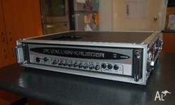 Up for sale is my trusty Gallien Krueger 400RB MkIV