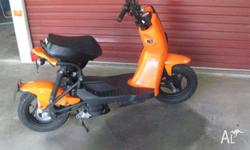 gamax scooter 50cc,only need car licence to ride, with