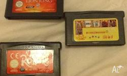 Game boy advance so games on sale. They include
