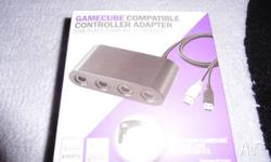 gamecube controller adapter for wii u brand new sealed