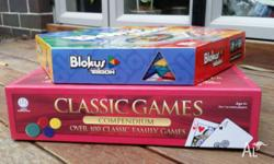 2 Games Blokus Trigon 100 Classic Family Games in a
