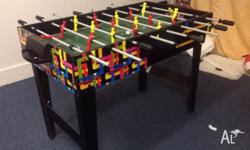 Kids entertainment unit offering soccer, table tennis,