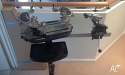 Gamma 5003 Stringing Machine 6 point mounting for sale