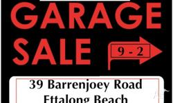 !!!! GARAGE SALE !!!! Saturday, 28/03/15 9am until 2pm