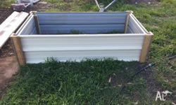 Steel garden beds made from extra strong clip lock