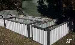 Colourbond Garden Beds - 800mm wide x 2.4m long and 800