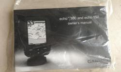 Garmin Echo 100/150 transducer cable & mount, power