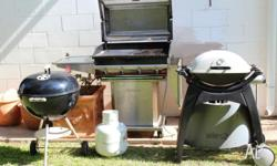 Three barbecues for sale 1. Full size (80cm x 49cm