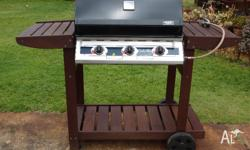 Cordon Bleu 3 burner gas BBQ (propane) with auto