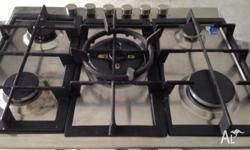 Baumatic Model:BACG7631-P 5 Burner with Wok burner