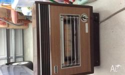 Portable gas heater Rinnai brand v good working order