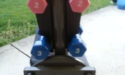 ? Stepper ? Twister plate ? Dumbells ? Monitor displays