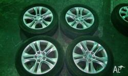 Looking to sell the set of rims that just came off my