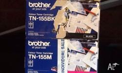 Genuine Brother high yield colour toner cartridge Pack