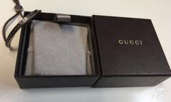 100% genuine Gucci bracelet with silver embossed