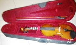 Size : 1/2 Violin Package includes 2 bows of different