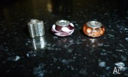 Pic 1. I have 3x Genuine PANDORA charms in very good