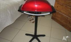 Used George Forman BBQ grill and near new condition