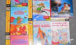 7 greats books all in Italian as new. Geronimo Stlton: