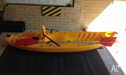For sale is a Wilderness System Little Ripper Kayak. -