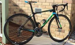 AS NEW HARDLY RIDDEN RECEIPTS AVIL GIANT TCR ADVANCED