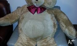 Giant Teddy Bear, Great condition. No Longer wanted.