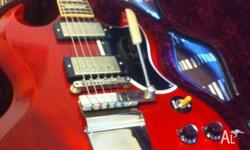 Up for sale is my Gibson Custom Shop SG Standard