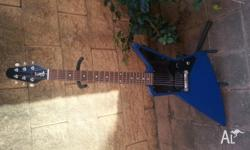 Selling a Gibson Explorer Melody Maker in Satin Blue
