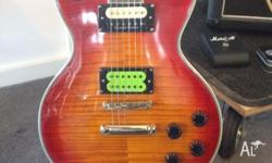 Gibson Les Paul copy, Chinese manufactured. The build
