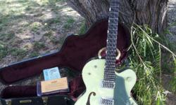 Hi there i am selling my gretsch anniversary guitar in