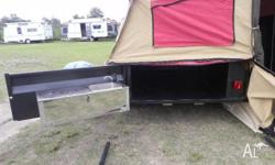 GIC CAMPER TRAILER CAMPER TRAILER SINGLE AXLE, 2010,
