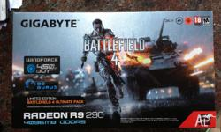 Up for sale is a Gigabyte R9 290 graphics card that was