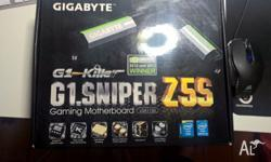 Gigabyte G1 Sniper Z5S. Working fine, just upgraded my