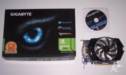 Gigabyte GT 640 2GB DDR3 Comes with Graphics card