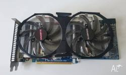 Used GeForce GTX 560. Replaced due to an upgrade.