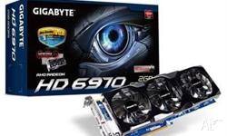 Gigabyte HD 6970 2gb Video Graphics Card