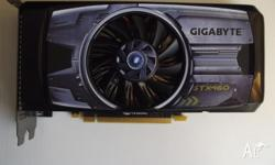 Gigabyte GeForce GTX 460. Includes the following: 1x